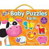 Galt Baby Puzzles farm 2pc image 0