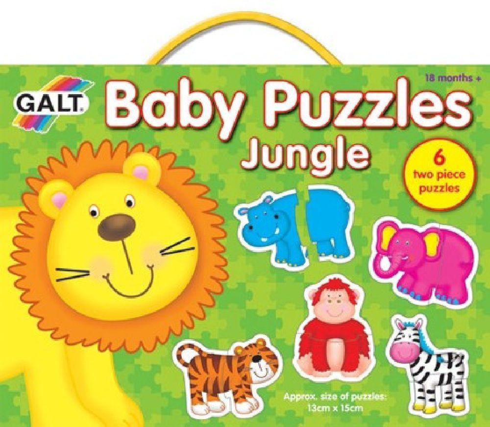 Galt Baby Puzzles Jungle 2pc