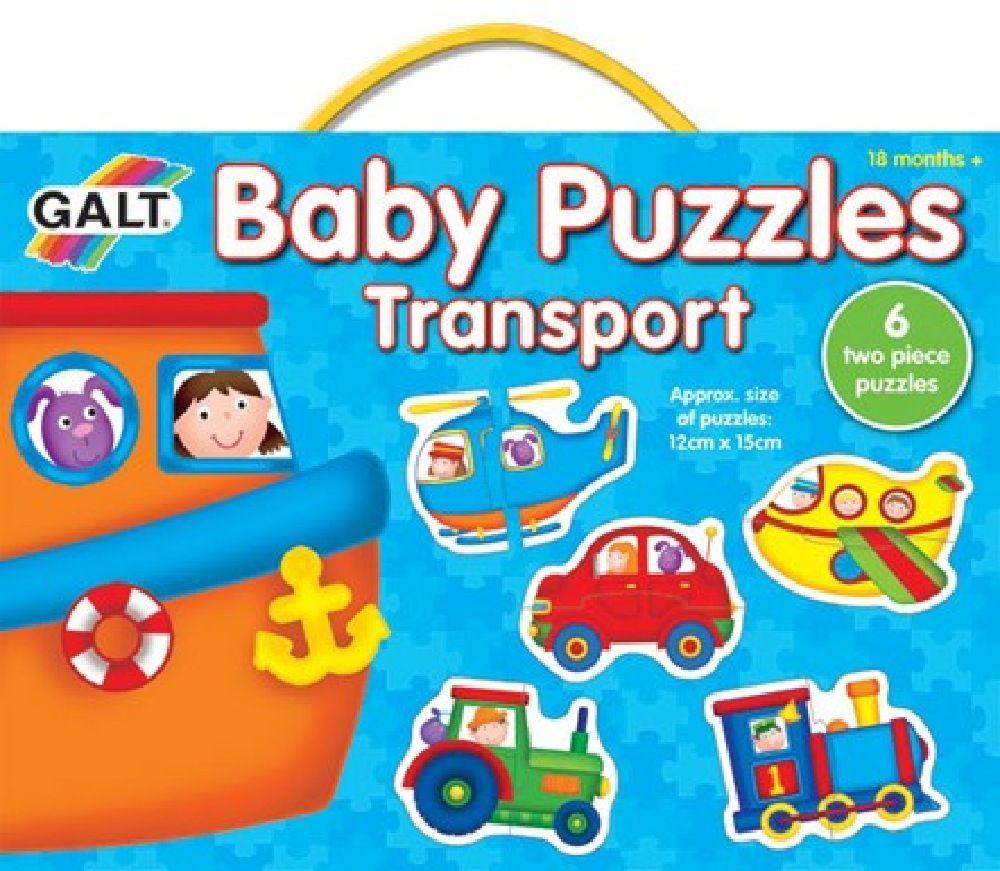 Galt Baby Puzzles Transport 2pc