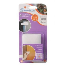 Dreambaby Appliance Latches 4pk