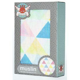 Weegoamigo Muslin Wrap Tri Fun Brights