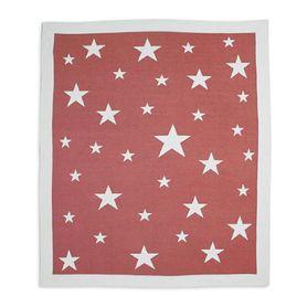 Weegoamigo Cotton Knitted Blanket Stellar Red