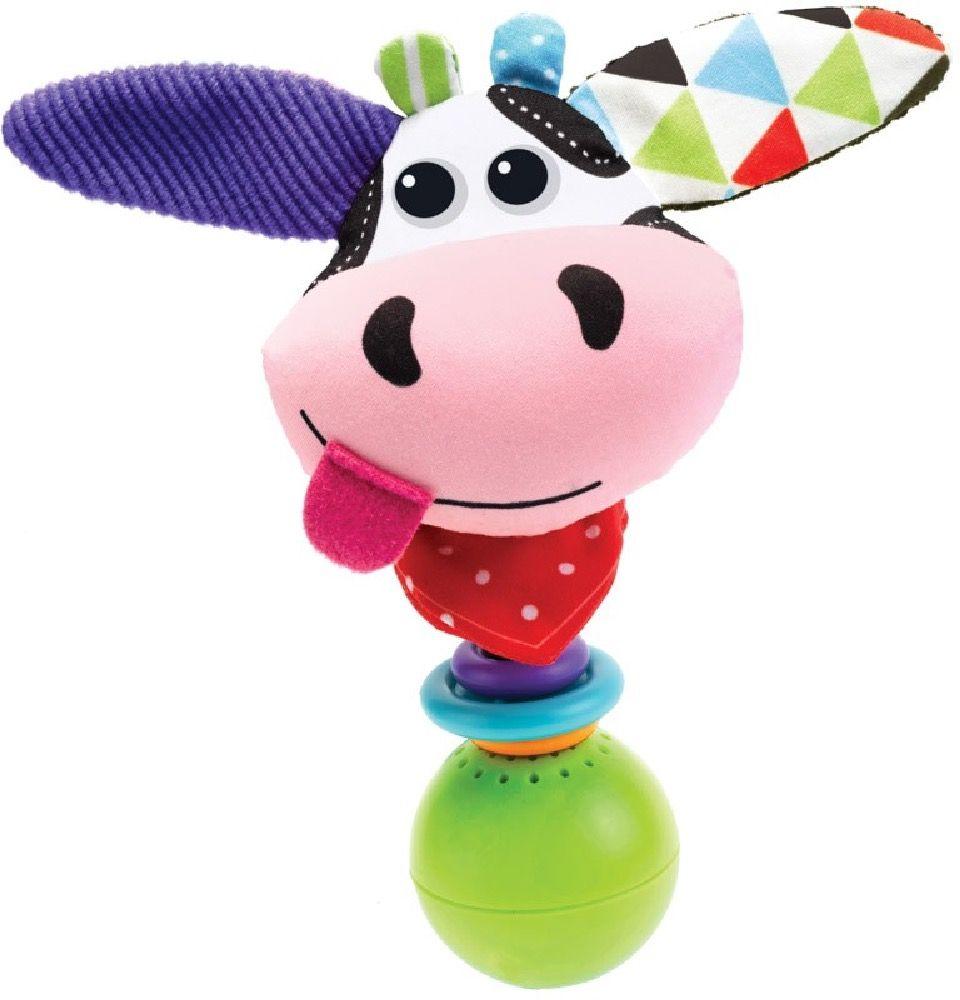 Yookidoo Musical Shake Me Rattle Cow