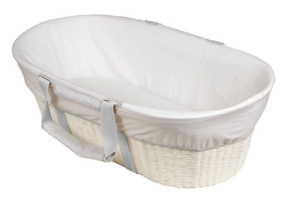 Childcare Moses Basket White