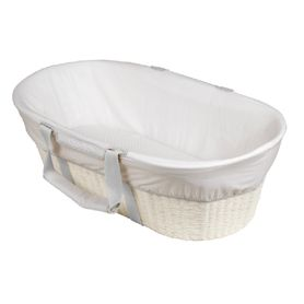 Childcare Moses Bassinet White