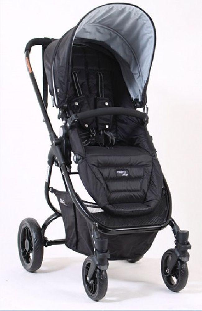 Valco Baby Snap Ultra Stroller Midnight Black image 1
