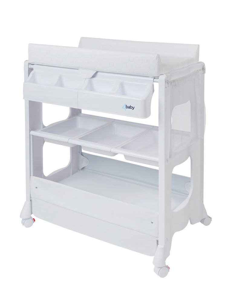 4Baby Deluxe Bath Changer White image 1