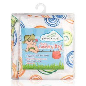 Pea Pods Laundry Bag Swirl