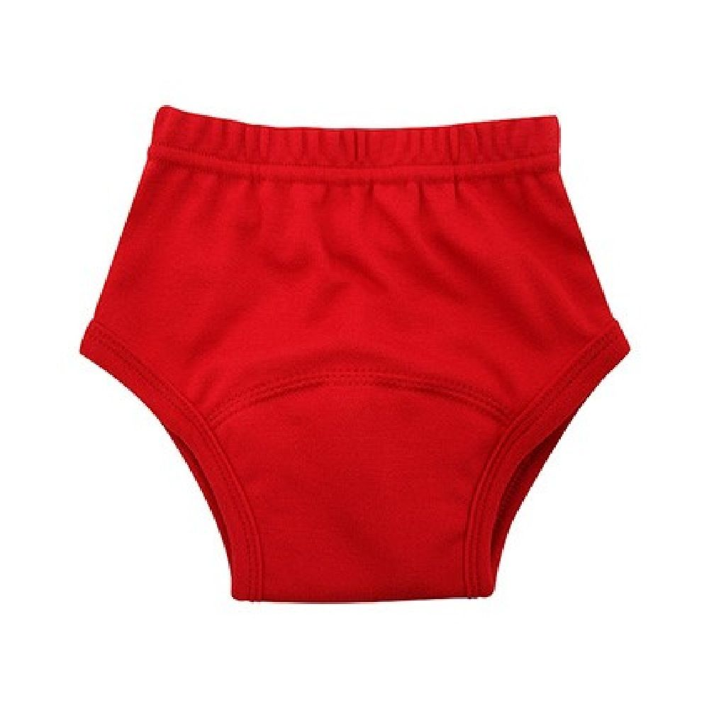 Pea Pods Training Pants Small Red