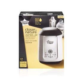 Tommee Tippee Closer To Nature Express & Go Bottle & Pouch Warmer