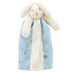 Bunnies By The Bay Buddy Blanket - Blue Bud Bunny