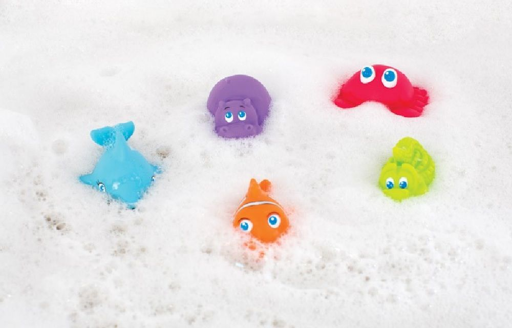 Playgro Under The Sea Squirtees image 1