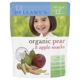 Bellamys Organic Pear / Apple Snacks 20G image 0