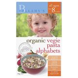 Bellamys Organic Vegie Alphabet Pasta 200G image 0