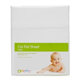 4Baby Clouds Jacq Fitted Sheet Cot