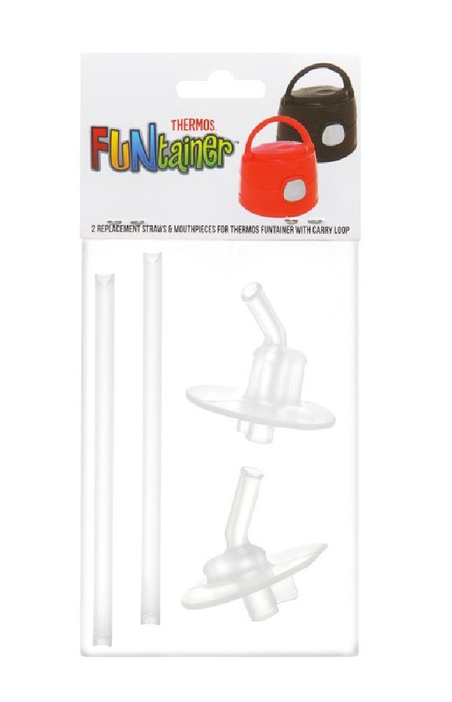 Thermos Funtainer Spare Straws & Mouthpiece 2PK image 1