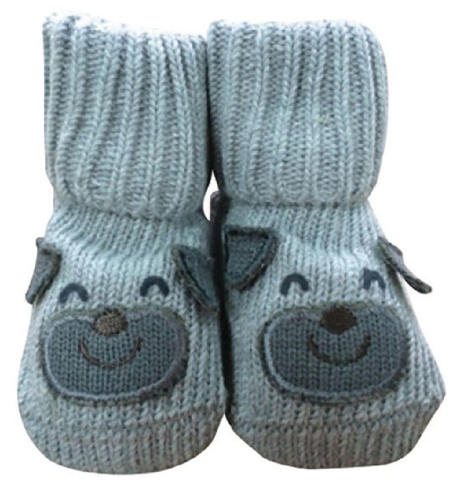 Playette Novelty Bootie Socks Puppy 0-6M image 0
