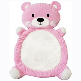 Living Textiles Play Mat Bear Pink