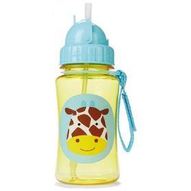 Skip Hop Zoo Bottle Straw Giraffe