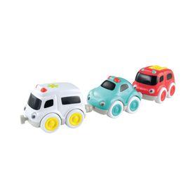 ELC Whizz World Emergency Car Trio