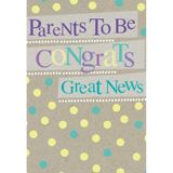 Henderson Greetings Card Parents To Be Banners & Spots image 0