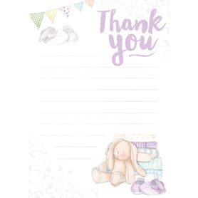 Henderson Greetings Baby Thank You Bunny