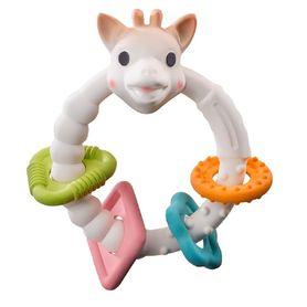 Sophie La Girafe So Pure Coloured Teething Rings