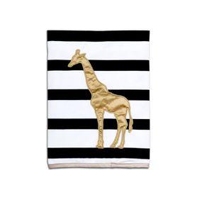 The Peanut Shell Safari Plush Pram Blanket