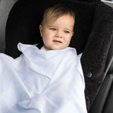 Little Bamboo Muslin Wrap Natural 3 Pack image 2