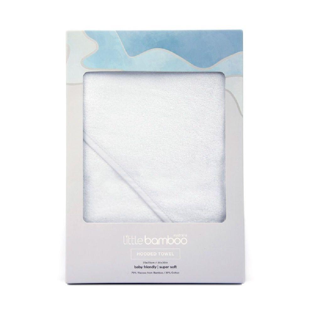 Little Bamboo Hooded Towel Natural