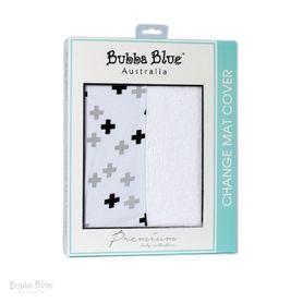 Bubba Blue Polar Bear Change Pad Cover