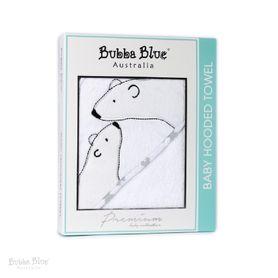 Bubba Blue Polar Bear Hooded Towel