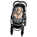 Outlook Mini Liner With Head Support Grey Chevron image 1