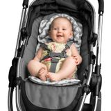 Outlook Mini Liner With Head Support Grey Chevron image 2