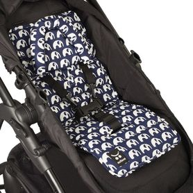 Outlook Mini Liner With Head Support Navy Elephant