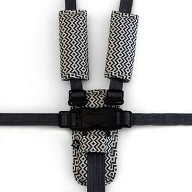 Outlook Harness Cover Set Charcoal Aztec