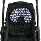 Outlook Baby Head Hugger Navy Elephants image 2