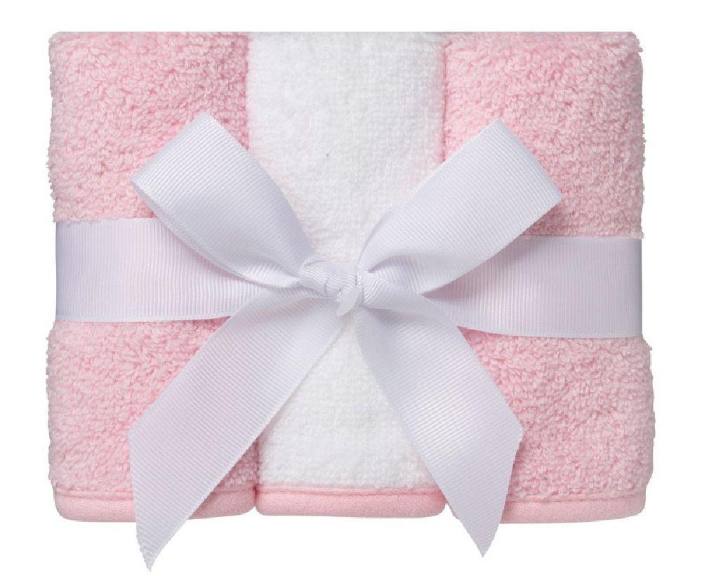 Playgro Wash Cloth Pink 3 Pack