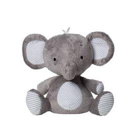 Playgro Cuddly Elephant Grey/White
