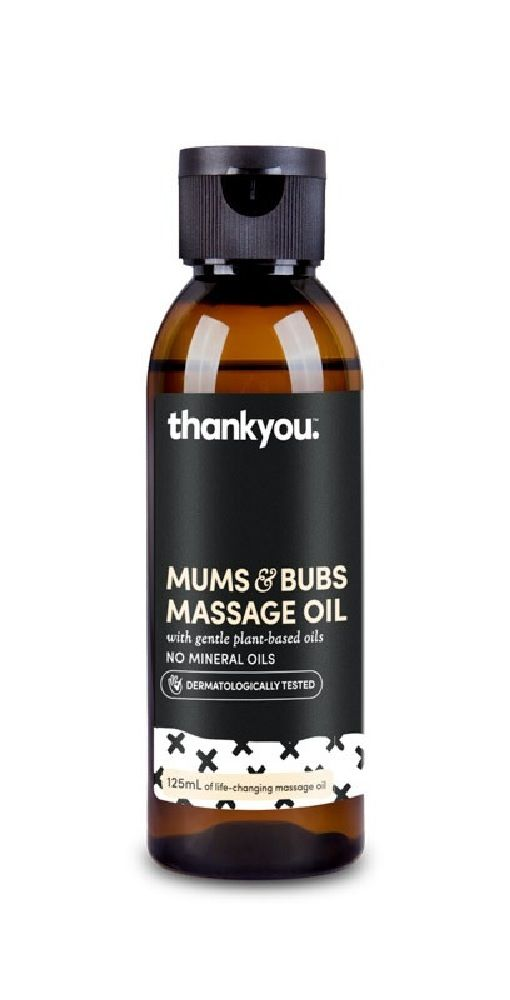 Thankyou Mums & Bubs Massage Oil 125ml