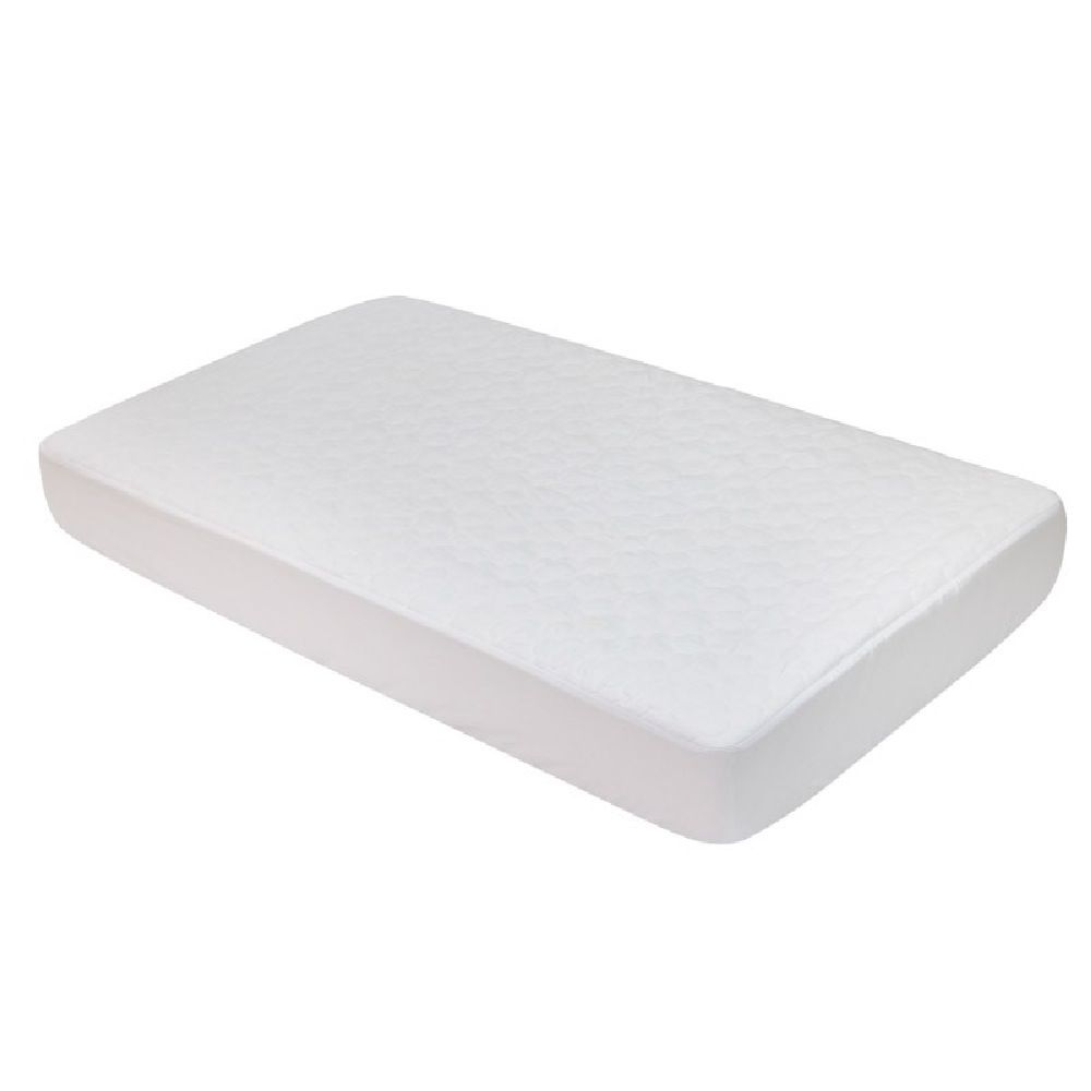 4Baby Quilted Mattress Protector Cot Large