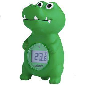 Oricom Bath & Room Thermometer Crocodile