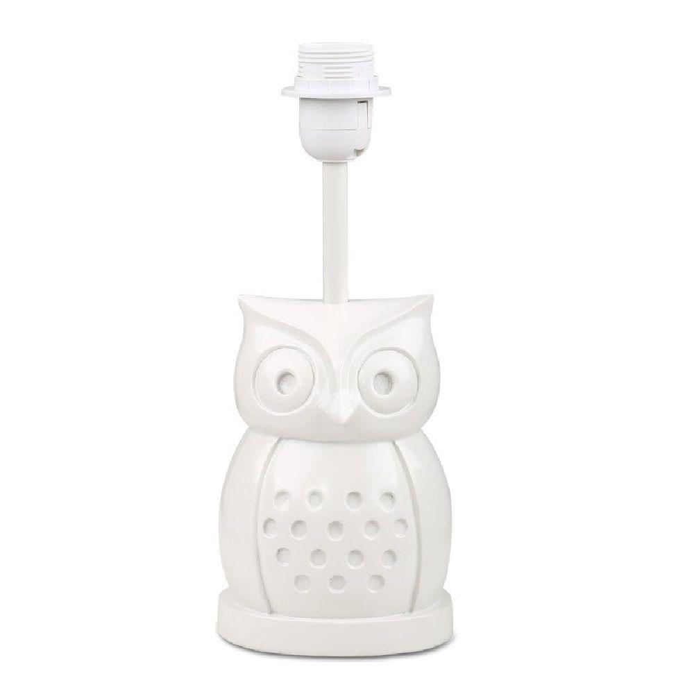 The Peanut Shell Lamp Base Owl