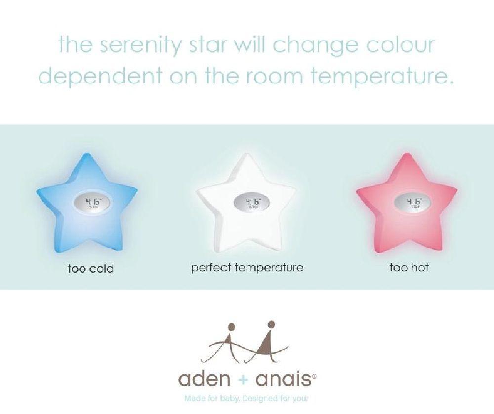 Aden & Anais Serenity Star White image 3
