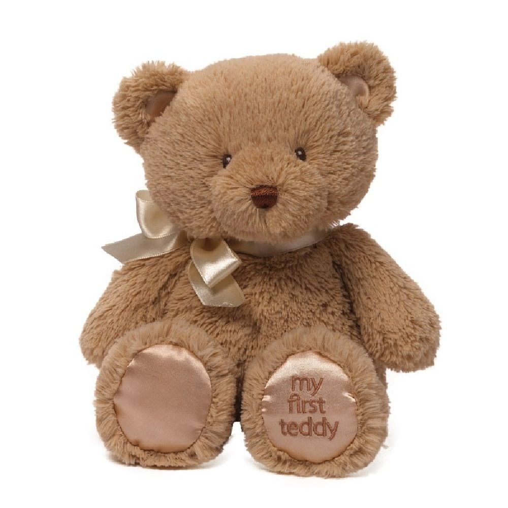 Baby Gund My First Teddy 38cm Tan image 0