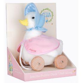 Beatrix Potter Jemima Puddle Duck Pull Along