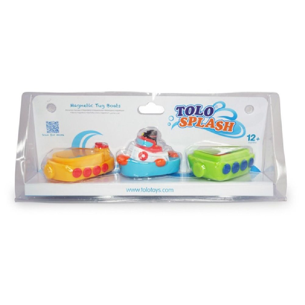 Tolo Baby Magnetic Tug Boats image 1