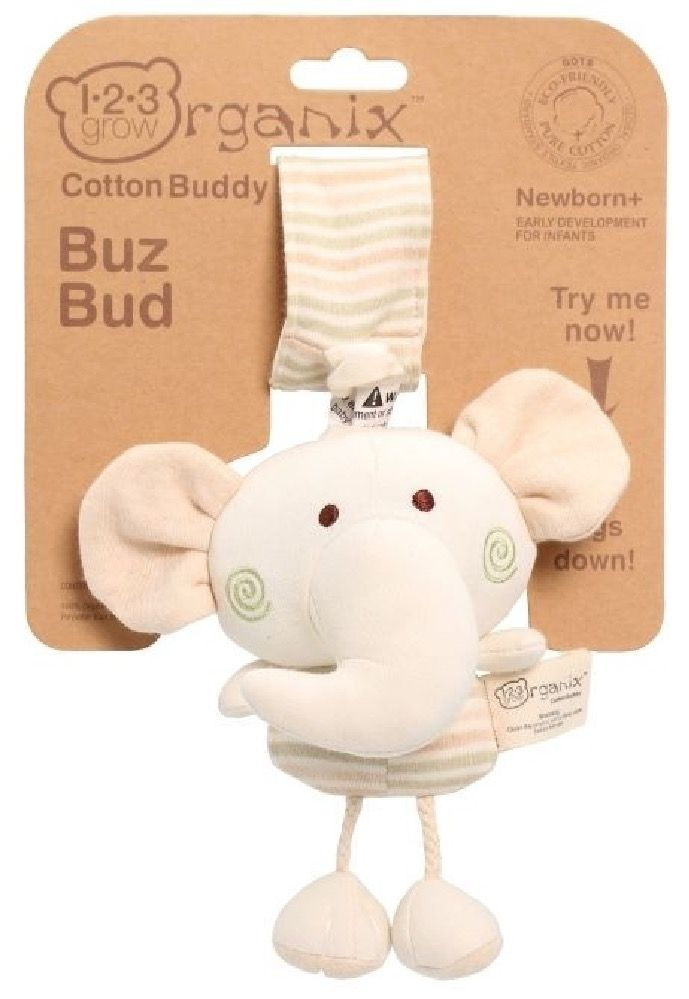 123 Grow Organix Buzz Bud Elephant Natural image 0