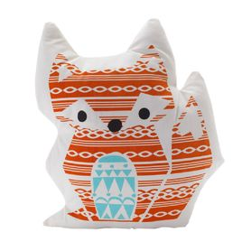 Lolli Living Woods Character Cushion Fox Orange