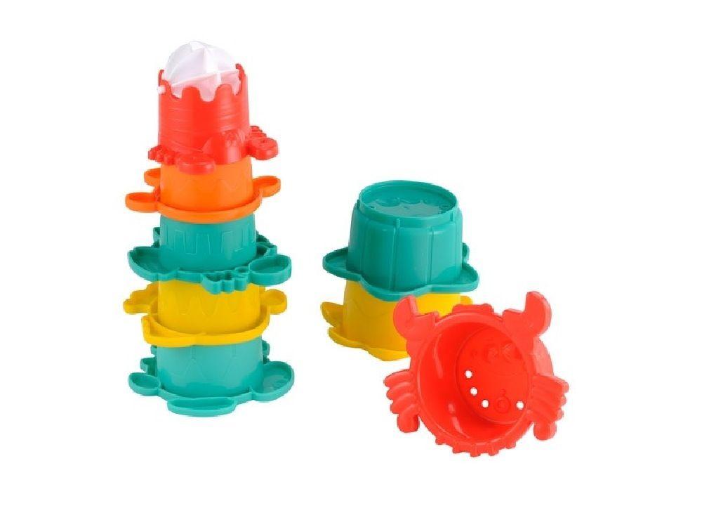 ELC Bath Stack Cups image 2